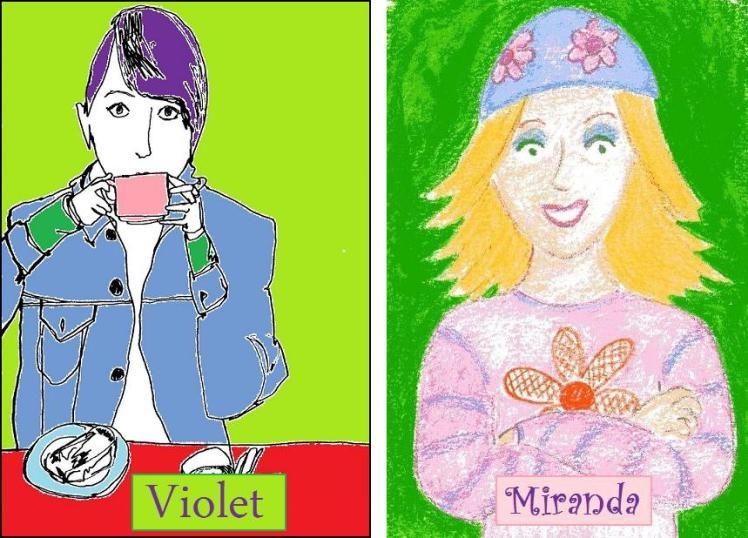 Violet and Miranda