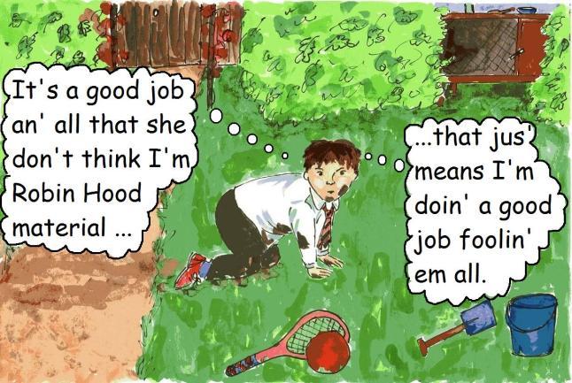 vegan comic for children