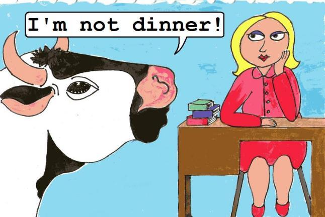 I'm not dinner 9