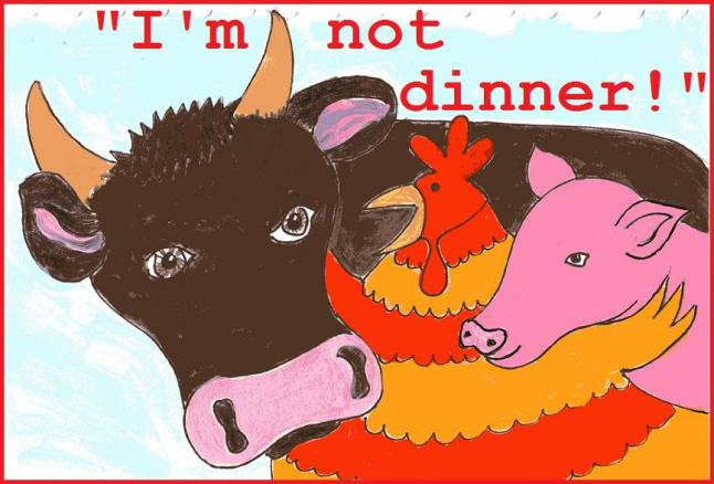 """I'm not dinner!"" now available for Kindle"