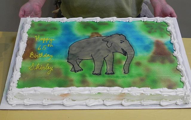 Shirley's cake
