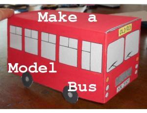 make a model bus