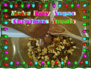 easy vegan Christmas treats