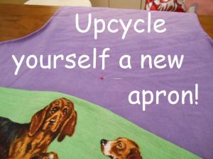 make a new apron