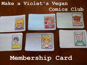 kids club membership card