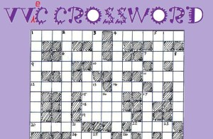 vegan crossword