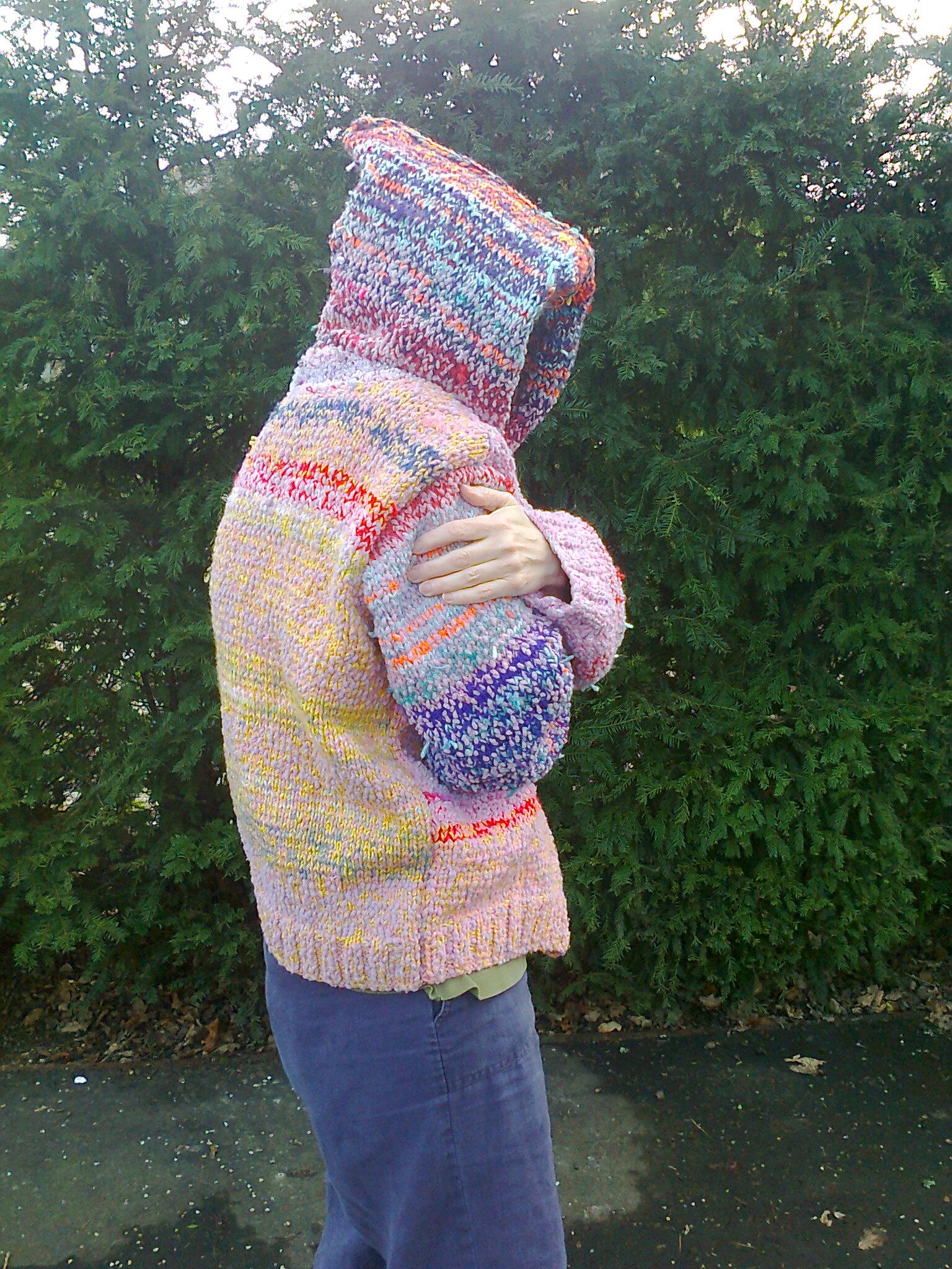 upcycled knitting yarns