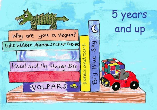 vegan comics for children aged 5 and up