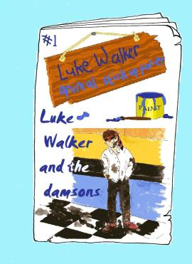 Luke Walker and the damsons: vegan comic for children