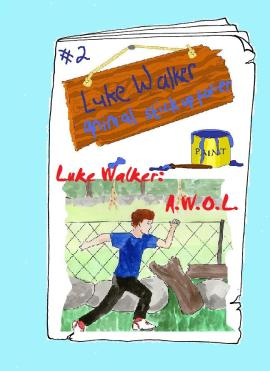 Luke Walker #2: A.W.O.L. vegan comic for children