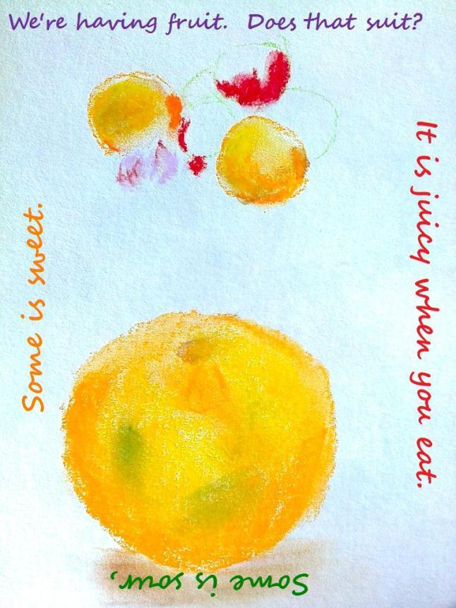 fruit poem