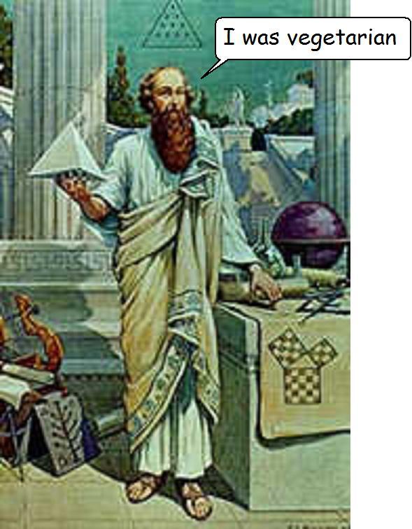 vegetarian pythagoras