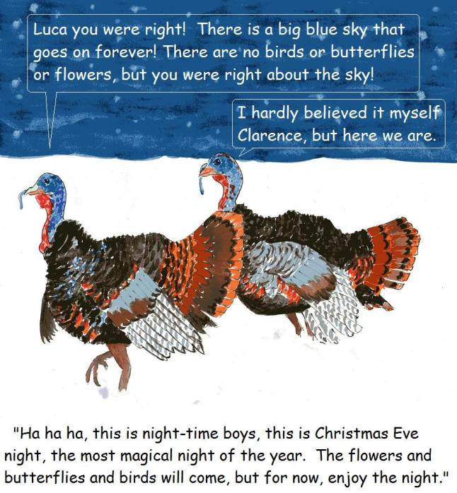 Christmas story about turkeys