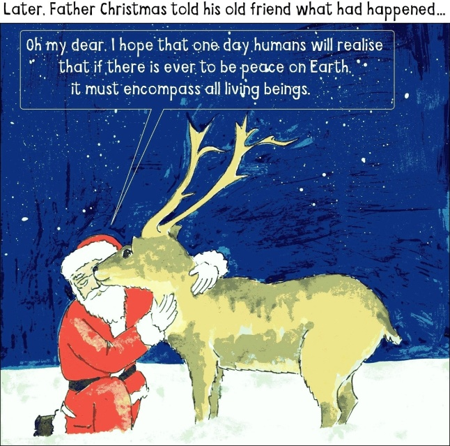 vegan Christmas story