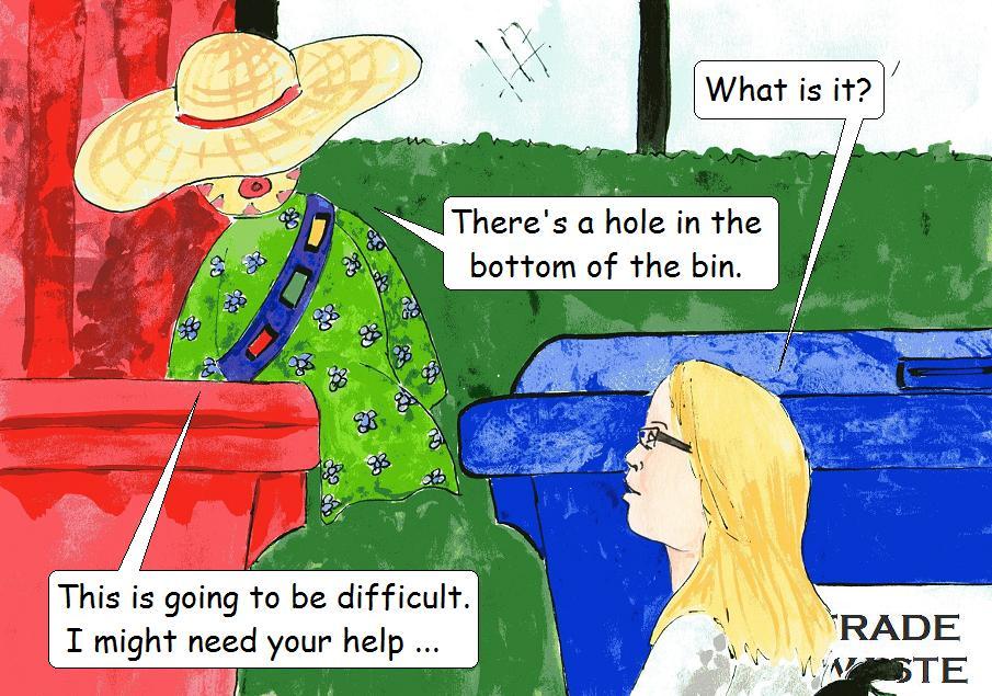 comic for veggie kids