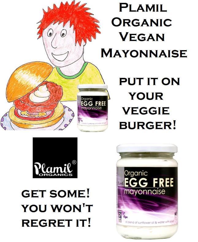 Plamil egg-free mayonnaise
