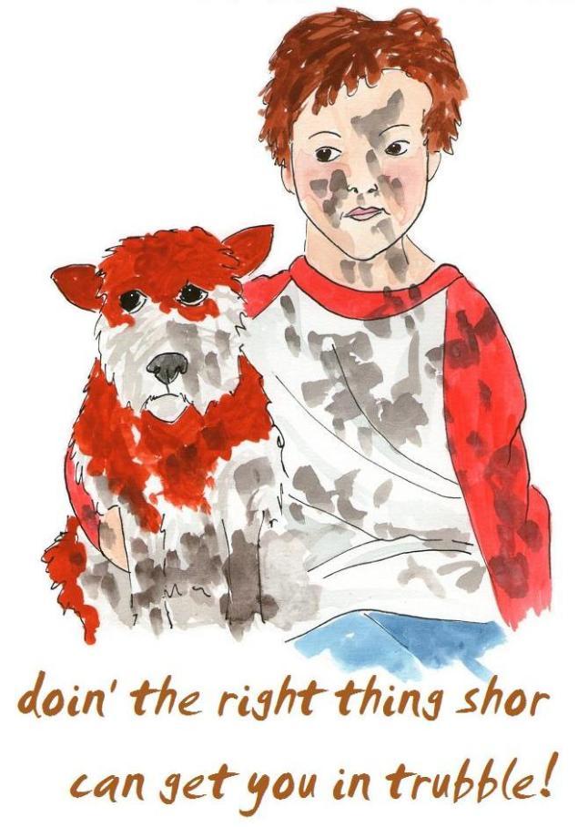 Luke Walker - vegan comic for children