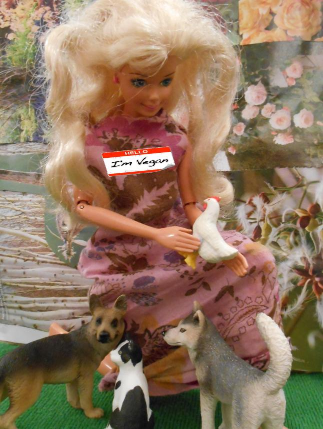 vegan Barbie