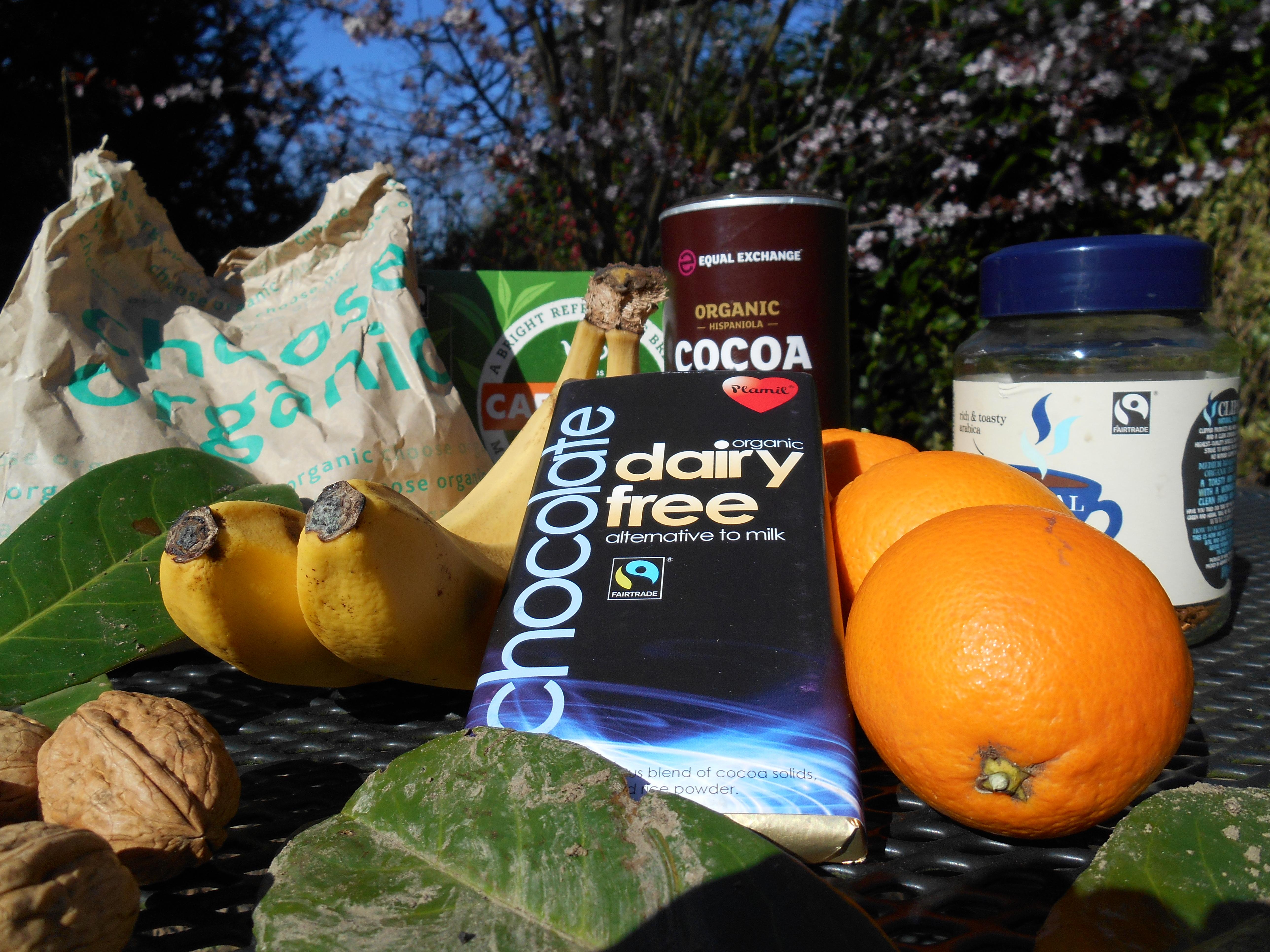 vegan organic fair trade