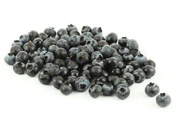 125g of organic fresh blueberries