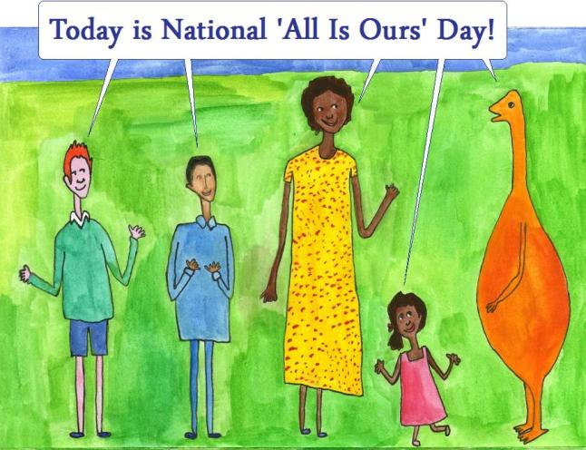 national all is ours day