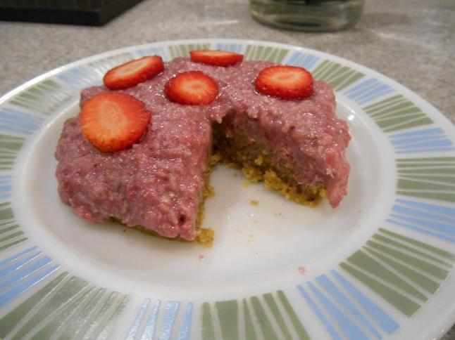 strawberry shortcake cut