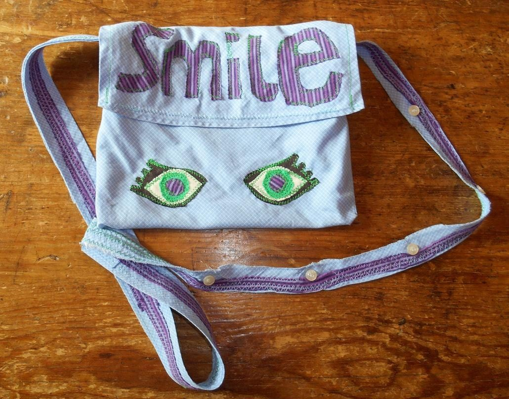 vegan smile bag front