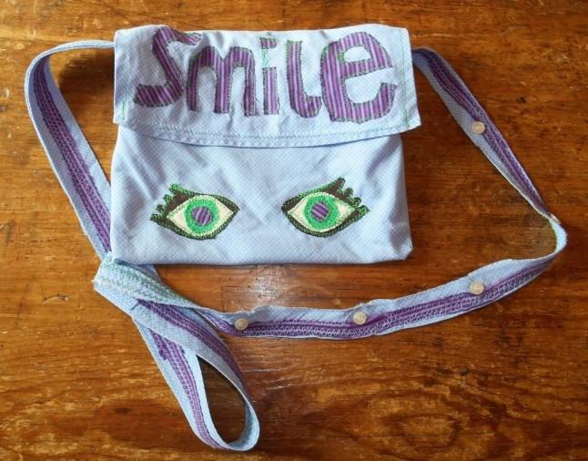 vegan smile bag front