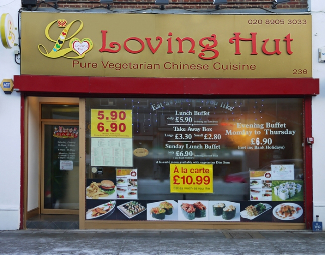 Loving Hut, Edgware, UK