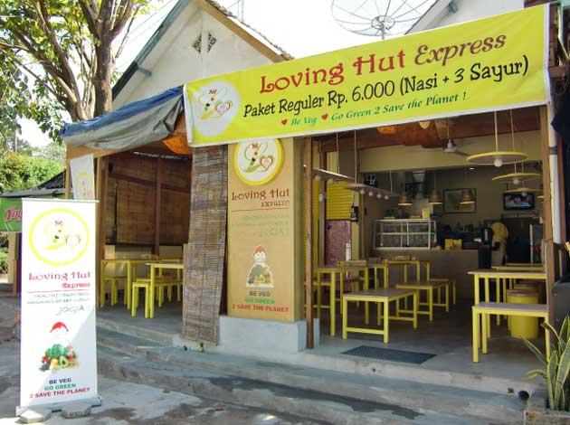 Loving Hut, Jogjakarta, Indonesia