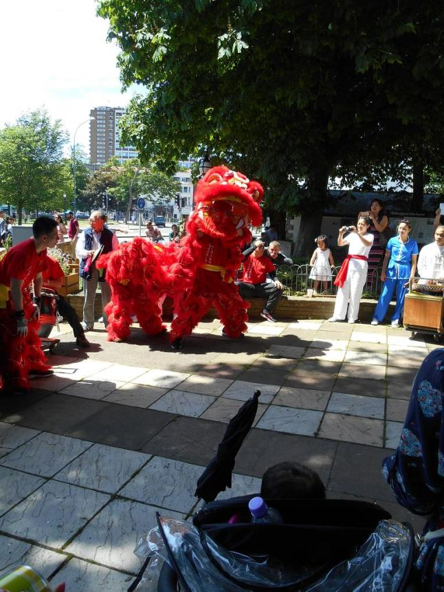 Lion Dance Brighton team