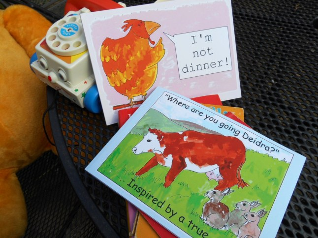"""1 'where are you going Deidra?' and """"I'm not dinner!"""" in paperback"""