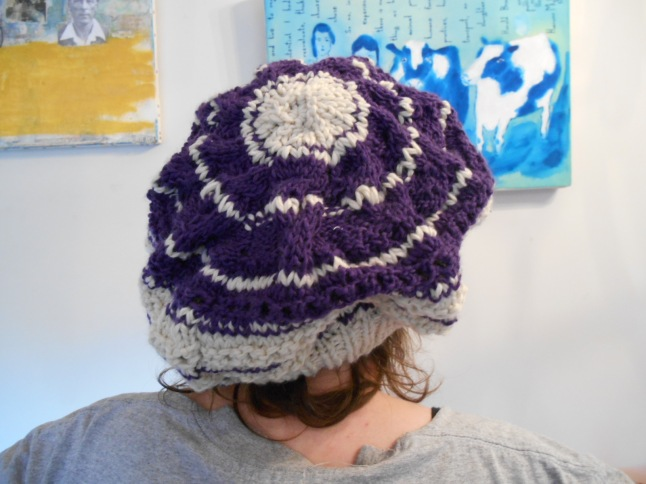 recycled beret back