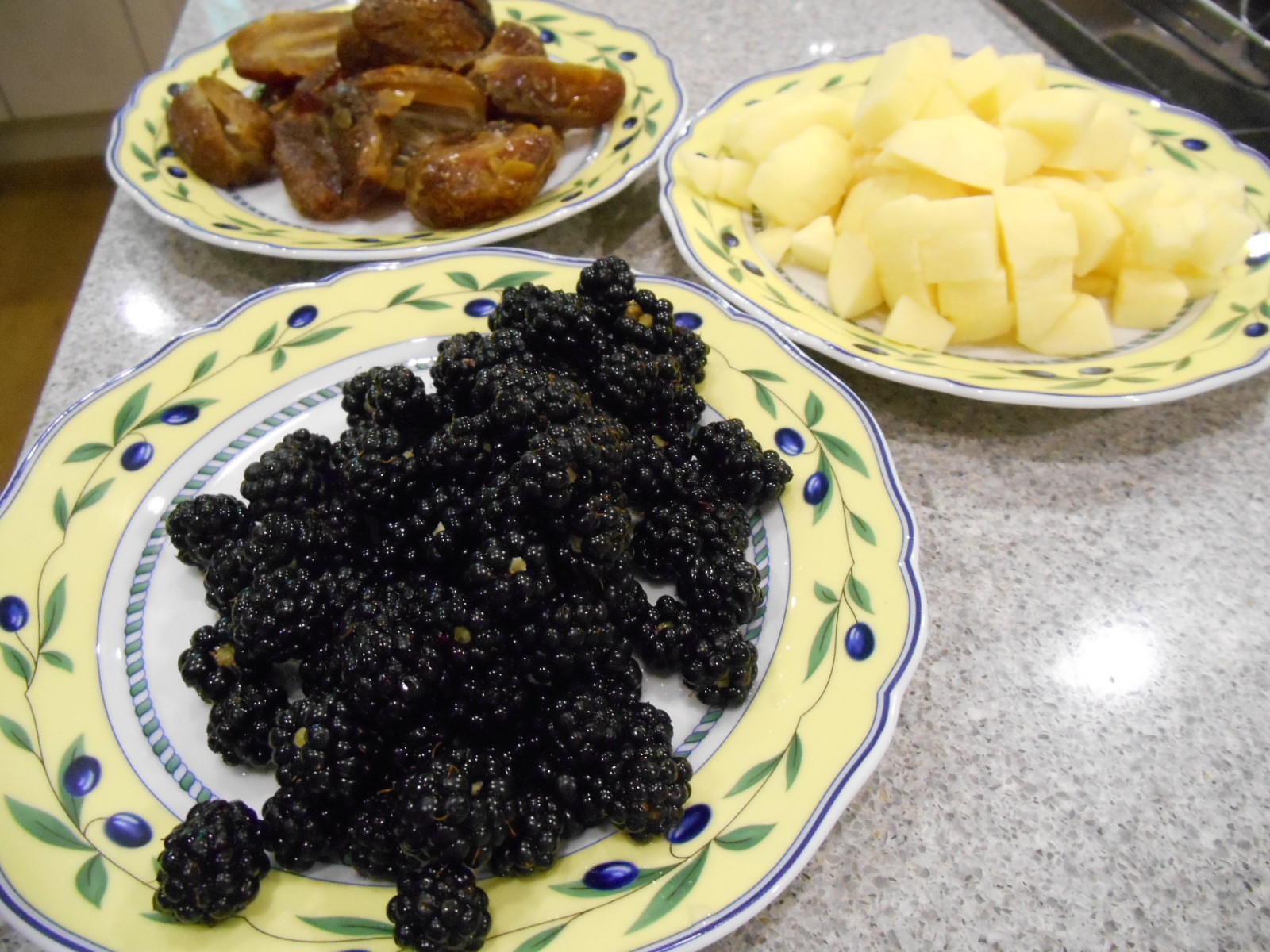 all the fruit