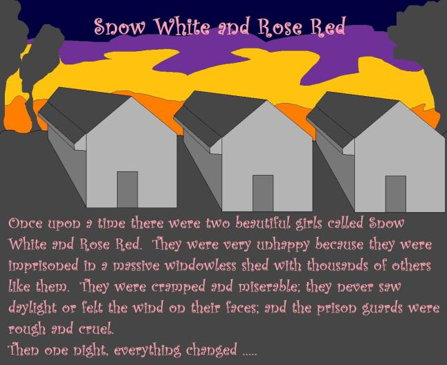 Snow white and rose red 1