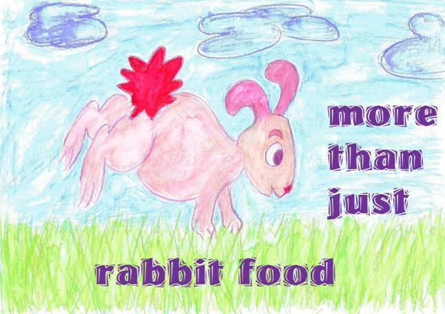 veganism is more than just rabbit food