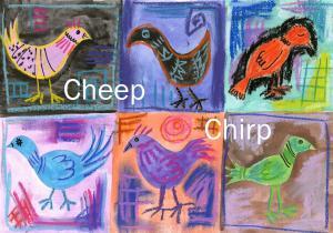 cheep chirp