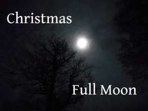 Christmas full moon poem