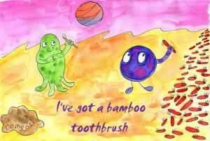 I've got a bamboo toothbrush