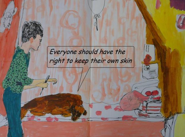 right to keep their own skin