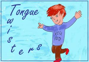 vegan tongue twisters