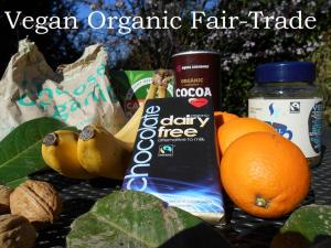 vegan organic fair trade
