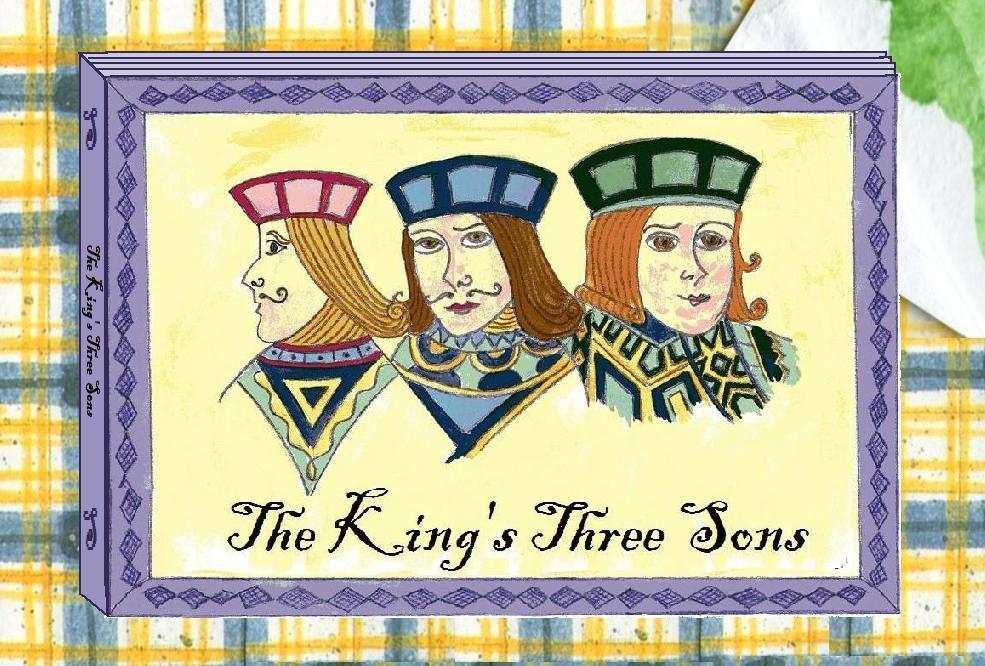 vegan fairy tale The King's Three Sons