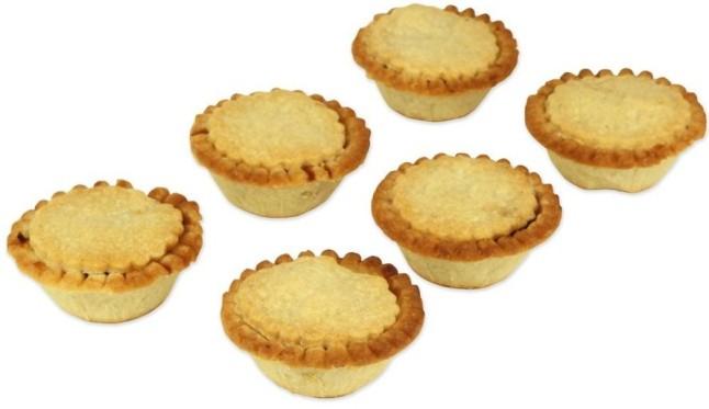 organic gluten free vegan mince pies