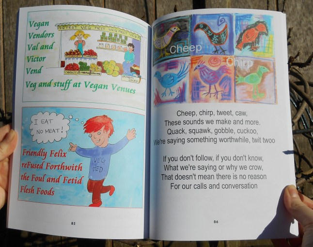Why are you a vegan and other wacky verse for kids