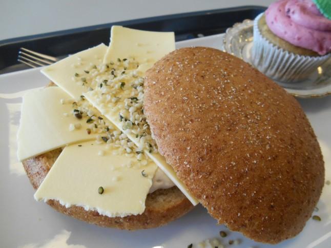 Cheese sandwich roll.  Yum!