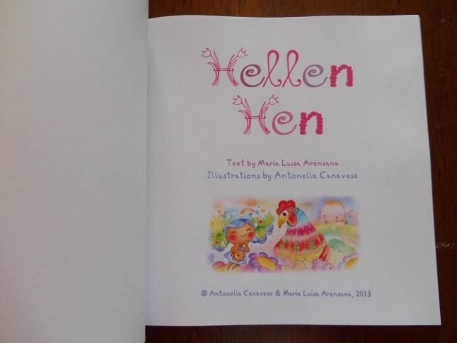 Hellen Hen title page