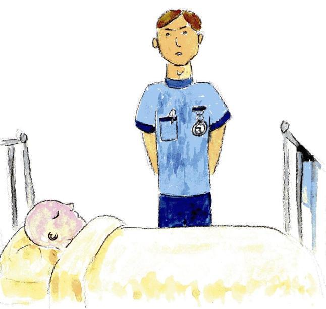 nurse said