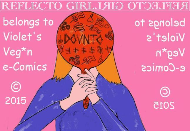 Reflecto Girl copyright 2015