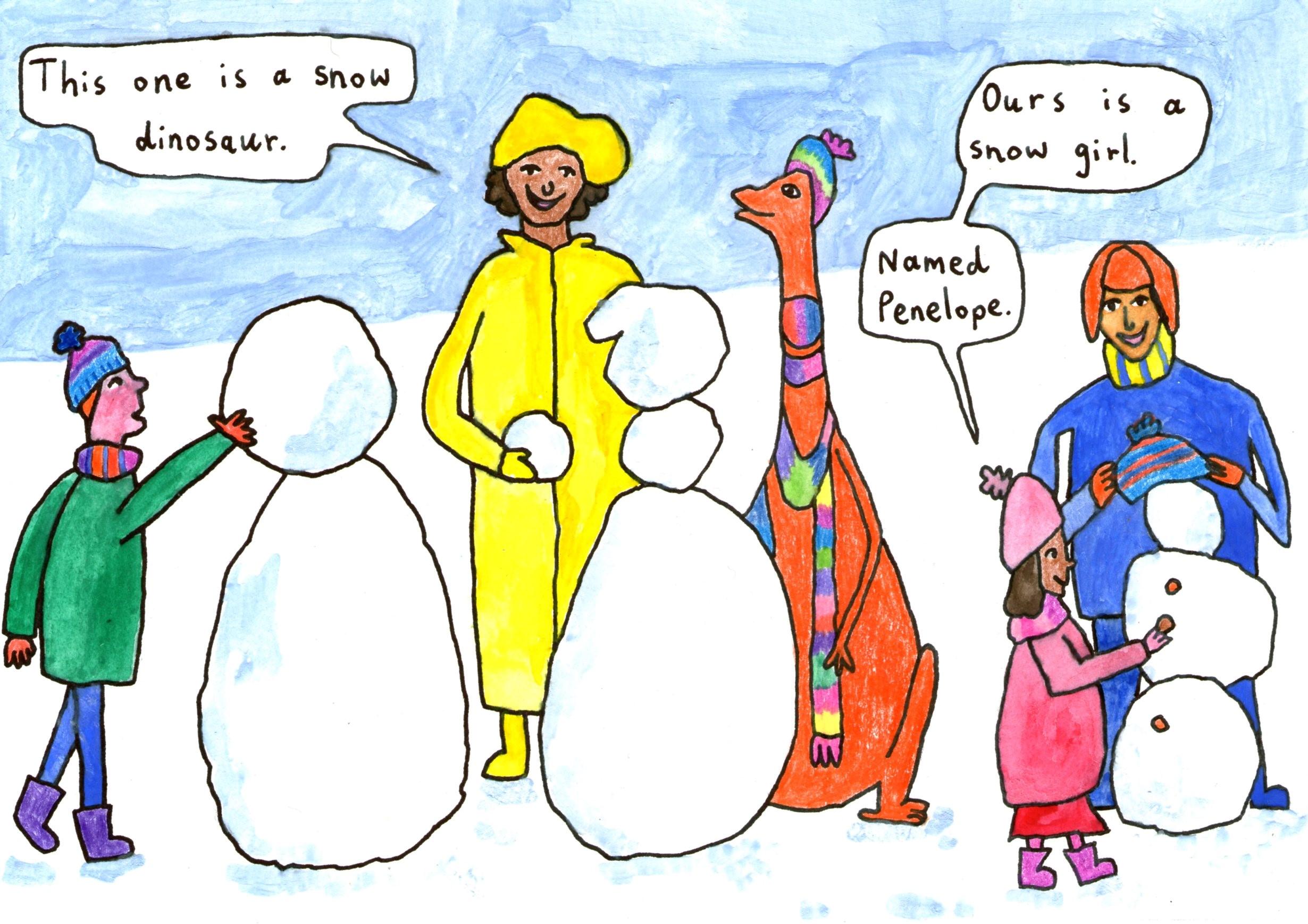 Vegan comic for kids